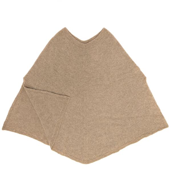 Mantella 100% cashmere color corda di Leopolda manifatture artigiane