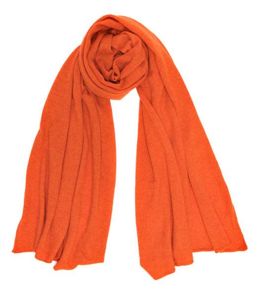 Nuovla arancio hermes in finissimo cashmere prodotta da Leopolda