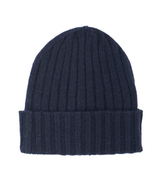 cappello a costa 100% cashmere in vendita online