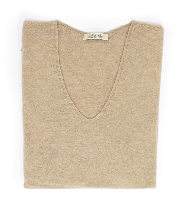 Idea regalo maglia over taglia unica di Leopolda cashmere