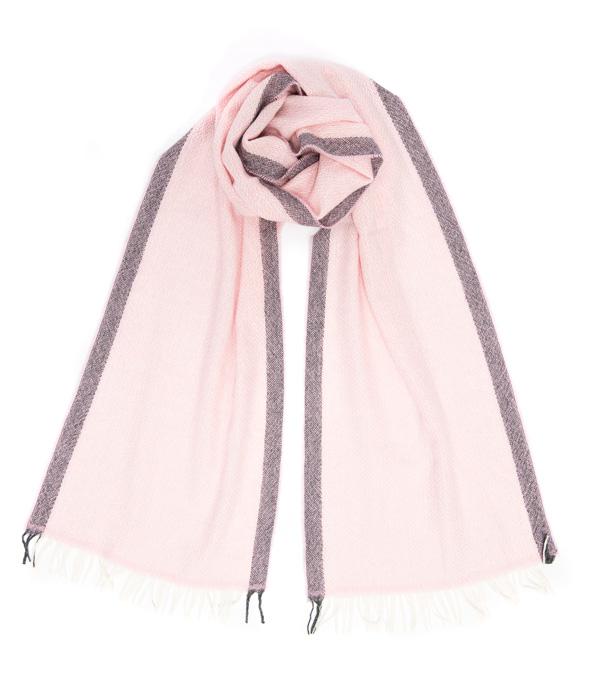 Sciarpa Vinci Rosa 100% cashmere Collezione Leopolda Pisa