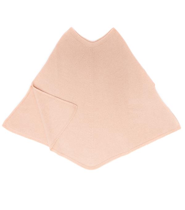 Leopolda Bolgheri presenta mantella cashmere color cipria