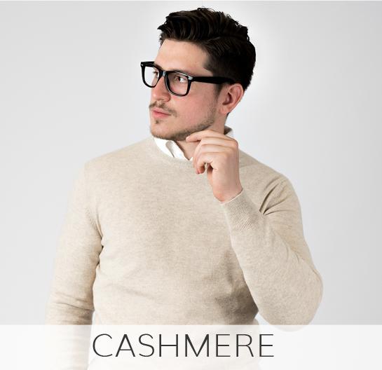maglieria uomo cotone e cashmere made in italy