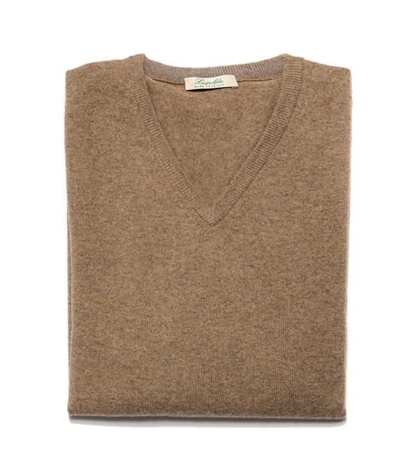 Scegli online il colore della maglia in cashmere che ti piace Leopolda cashmere la produrrà per te