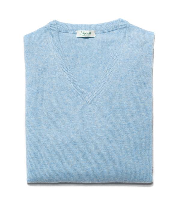 Scegli online il colore il modello e la taglia della maglia in cashmere che ti piace Leopolda cashmere la produrrà per te