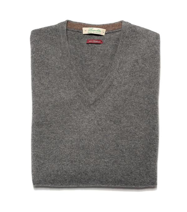 maglia in cashmere realizzata da Leopolda cashmere scegli online modello colore e taglia