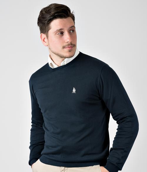 maglieria uomo in cotone di leopolda cashmere boutique online di moda italiana