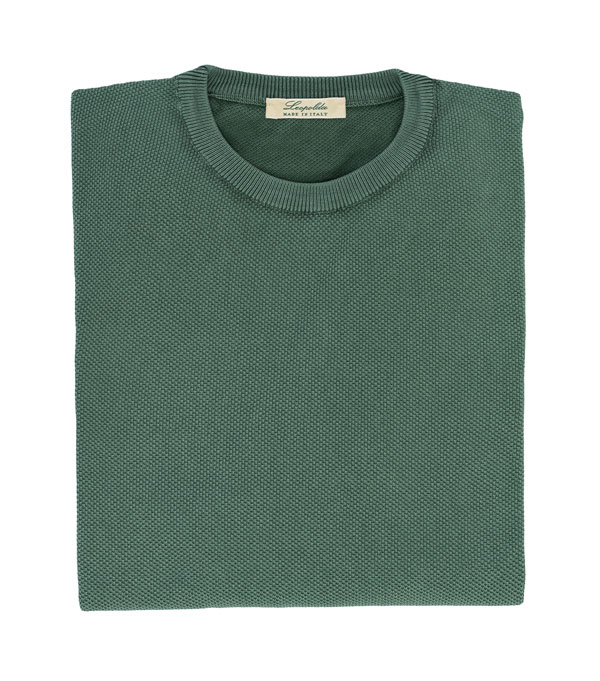men piquet knitting knitwear green new leopolda cashmere collection made in italy
