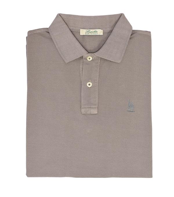 polo manica corta colore corda della nuova collezione leopolda cashmere compra online