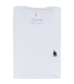 100% cotton man t-shirt new leopolda cashmere collection made in italy
