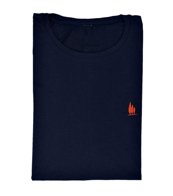 maglia t-shirt con ricamati i cipressini Leopolda cashmere nuova collezione primavera estate 2018