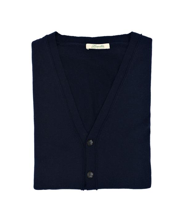 gilet lana merinos in vendita online Leopolda manifatture artigiane