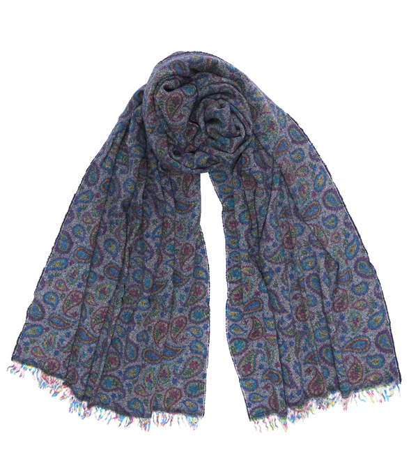 mixed cashmere scarf by Leopolda Made in Italy