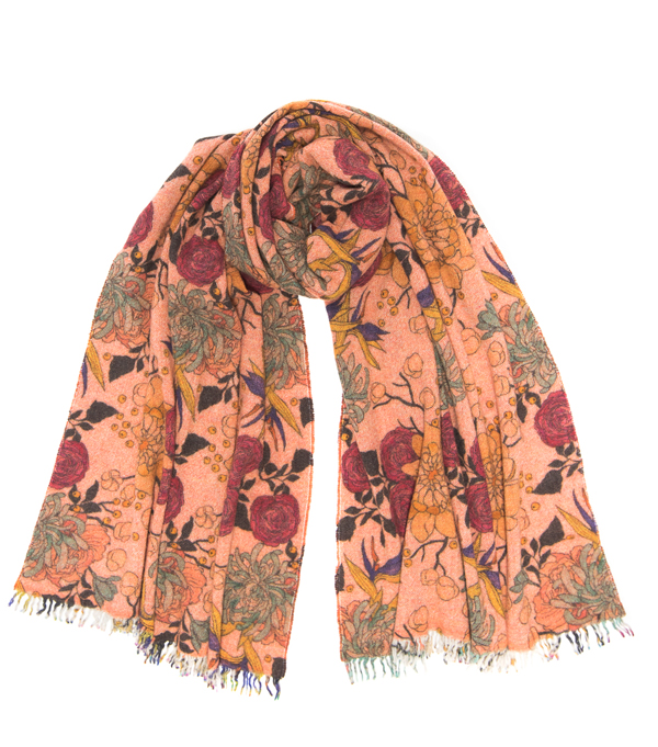 cashmere scarf by Leopolda made in italy