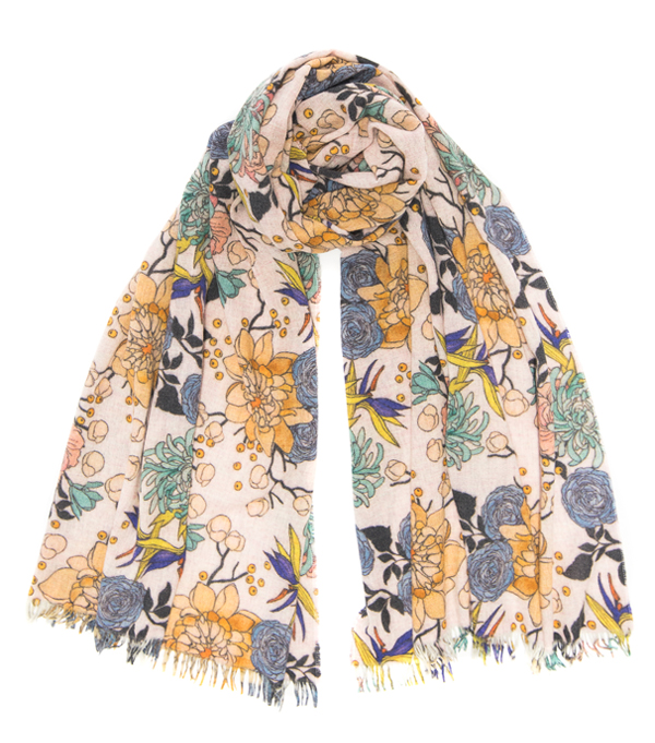 SCARF IN MIXED CACHEMIRE BY LEOPOLDA