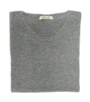 maglia girocollo 100%cashmere in venditaonline su Leopolda cashmere made in Italy