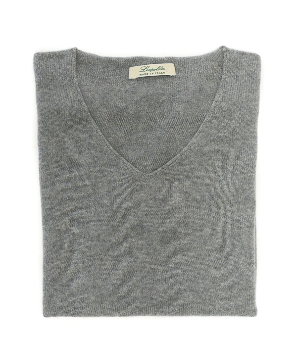 v neck cashmere pullover made in italy italian fashion