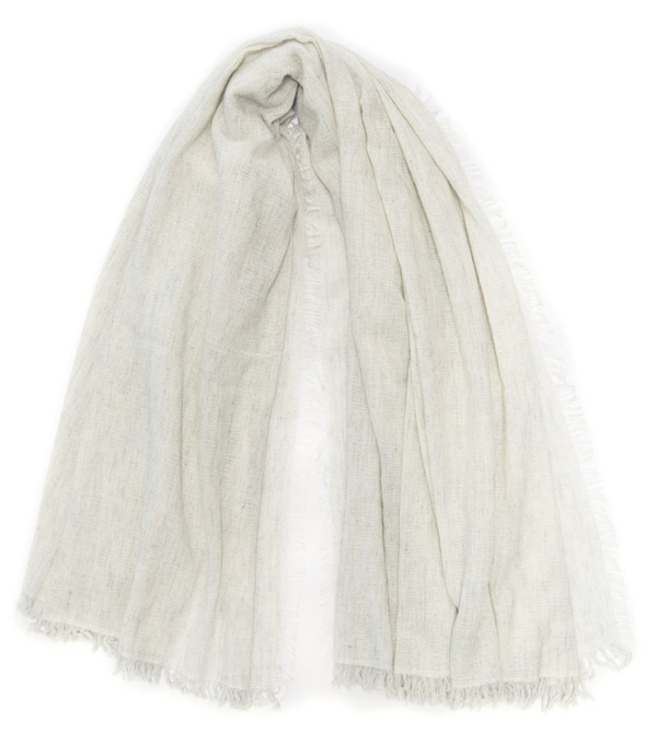 wide stole in virgin wool, modal and cashmere by Leopolda italian fashion