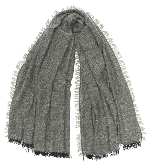 wide stole in virgin wool, modal and cashmere by Leopolda made in italy
