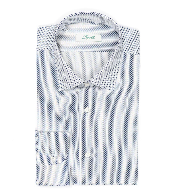 man shirt in pure cotton by leopolda - made in italy