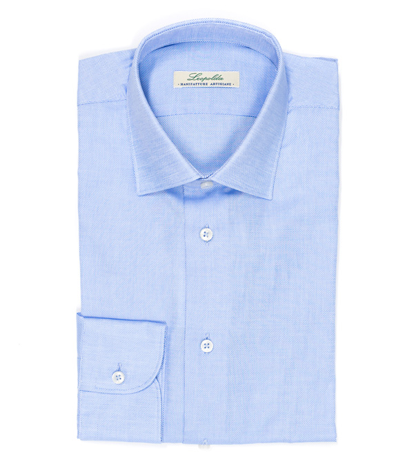 men shirts in pure cotton by Leopolda