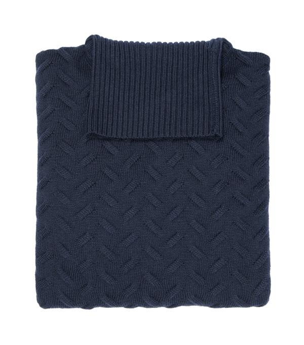 Merinos wool men's turtlenech sweater - made in italy