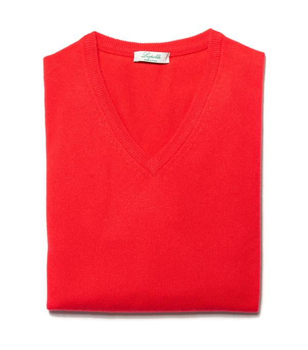 Leopolda cashmere produce maglie girocollo o scollo v in cashmere