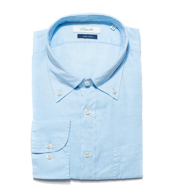 camicia da uomo in puro lino in vendita online