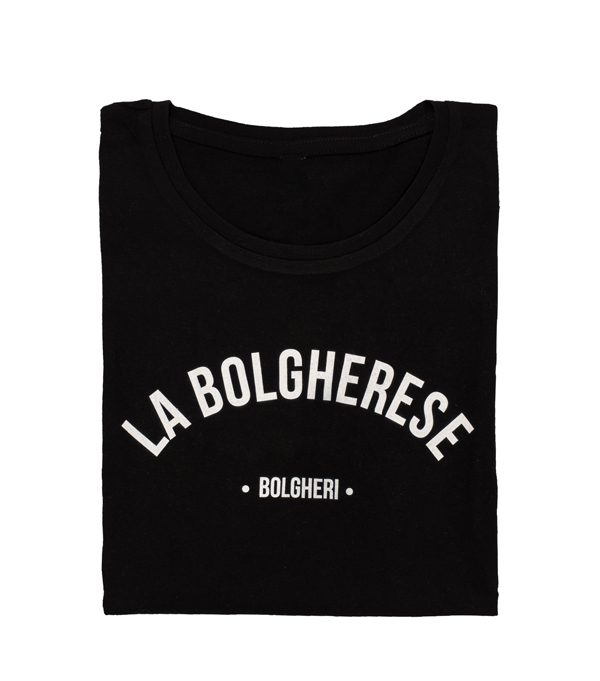 woman t shirt dedicated to Bolgheri by Leopolda