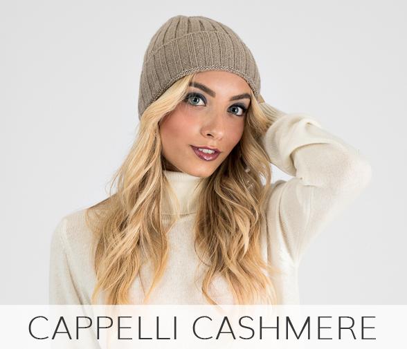cappelli in puro cashmere