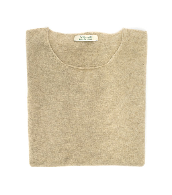 crew neck cashmere knitwear pullover made in italy