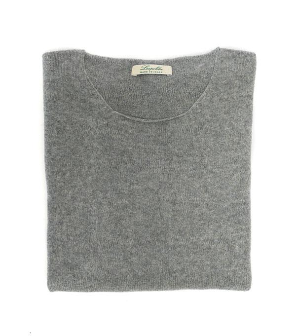 maglia girocollo cashmere - Leopolda manifatture artigiane
