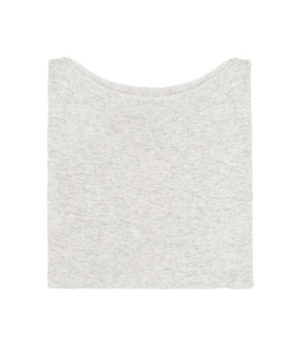 maglia over taglia unica dalla pratica e comoda vestibilità in misto cashmere