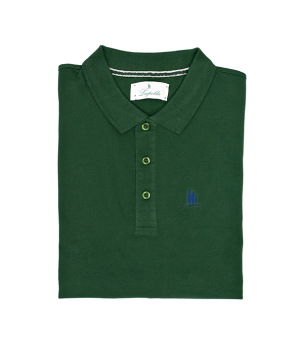 long sleeved polo shirt made in italy