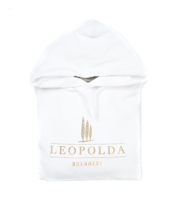 Felpa donna Leopolda dedicata a Bolgheri in vendita online.