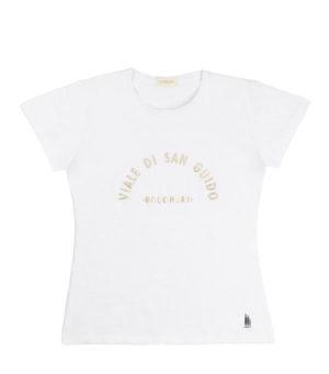 t-shirt viale san guido oro di leopolda cashmere italia