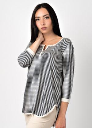 maglia donna di produzione leopolda cashmere italia