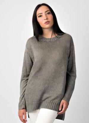 maglia in lino di leopolda cashmere italia