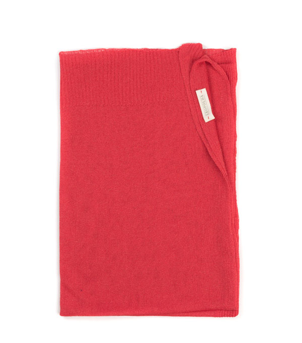 capes for summer color red made in Italy
