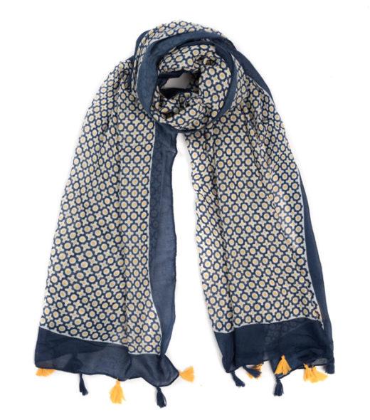 sciarpa in viscosa di leopolda cashmere prodotto in italia