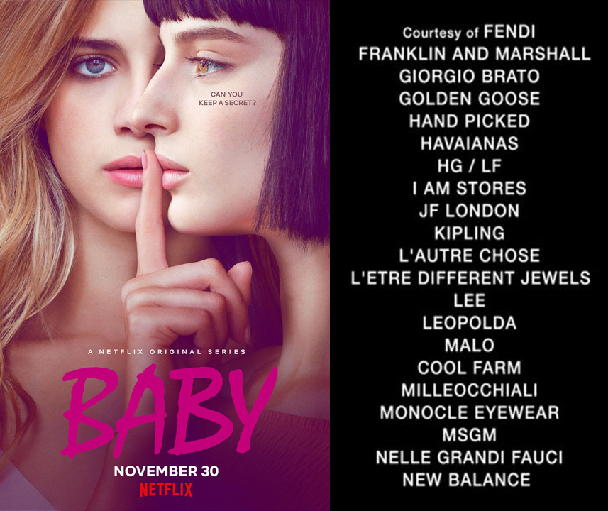 Serie tv Baby su Netfix