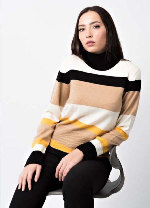 maglia dolcevita in cashmere e lana di leopolda bolgheri vendita online