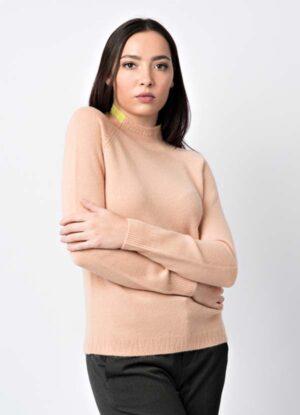 maglia donna 100% cashmere di produzione italiana leopolda bolgheri