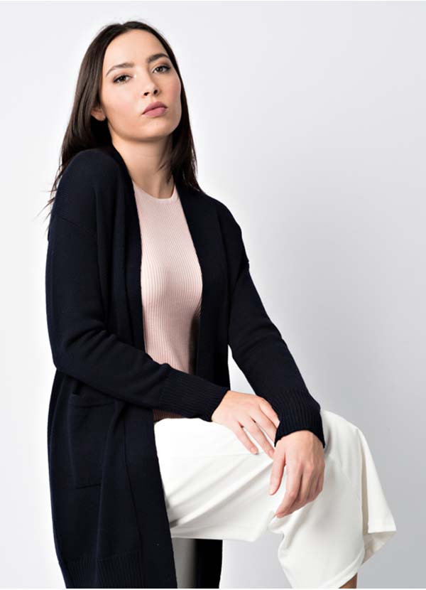 winter cashmere knitwear for woman made in Italy