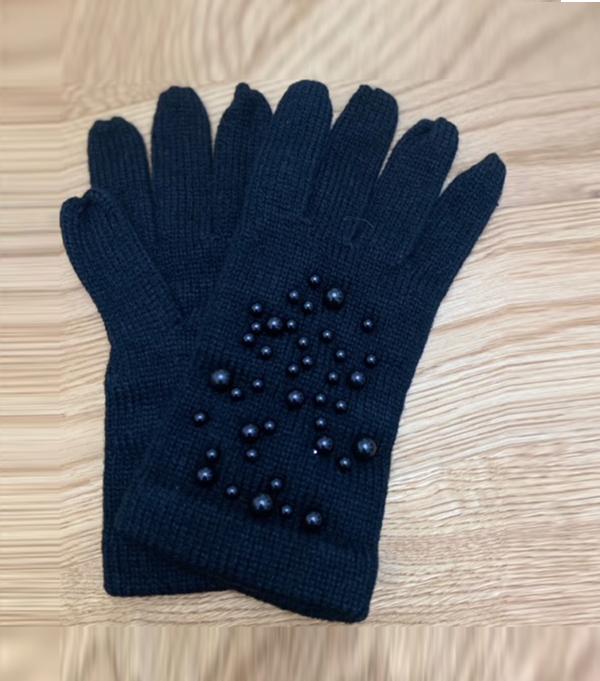 women's winter glove blue leopolda bolgheri