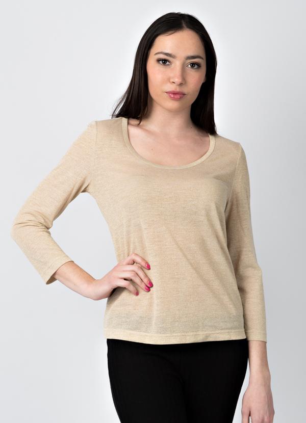 maglia lurex leggera per l'estate made in Italy