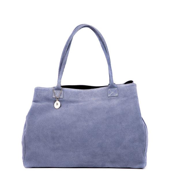 borsa donna in camoscio in più varianti colore