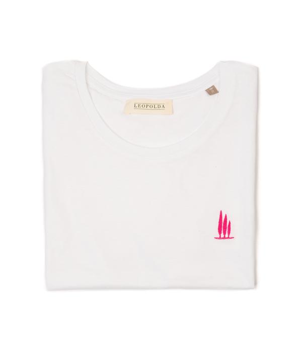 maglia t-shirt cotone DEDICATA A BOLGHERI made in italy