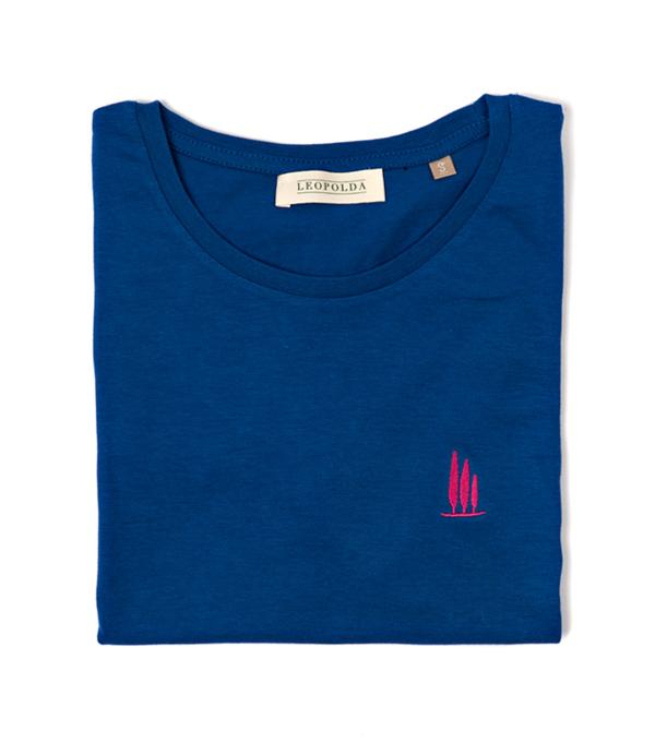 maglia t-shirt con stampa BOlgheri Leopolda made in italy