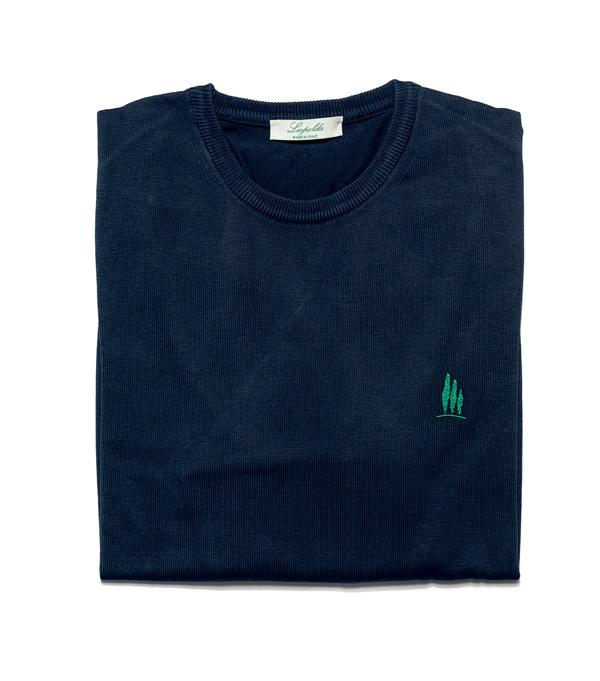 maglia uomo girocollo in cotone vendita online - made in italy